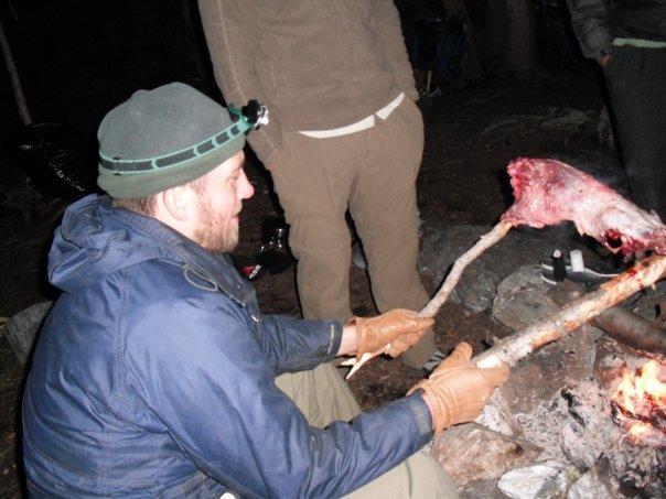 Roasted Porcupine